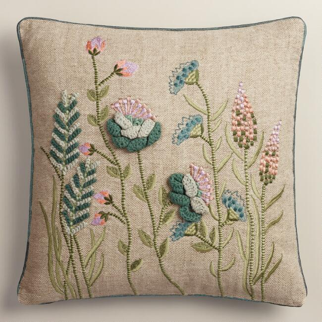Popular 12 Unique Throw Pillows Embroidered | Sectional Sofas NF13