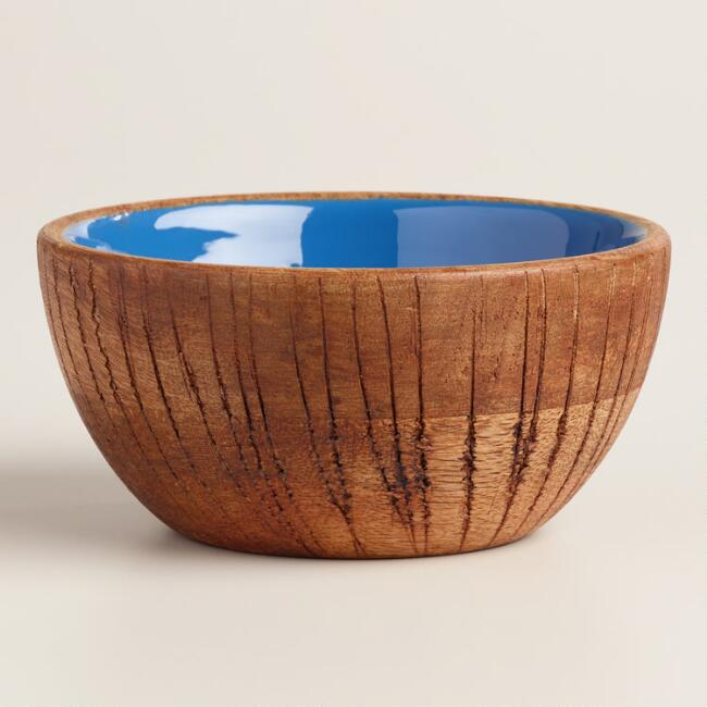 Coconut Wood Salad Bowl