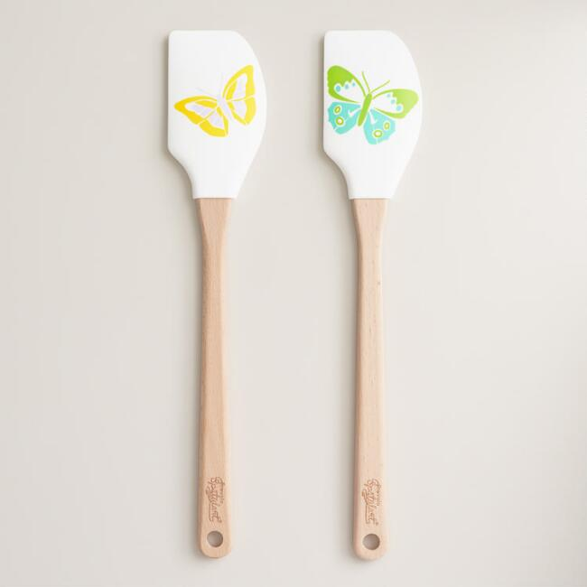 Butterfly Silicone Spatulas Set of 2