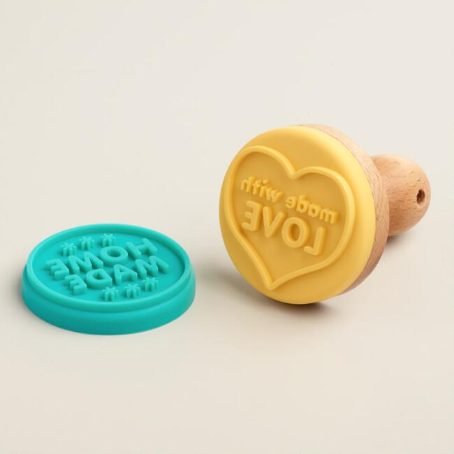 Mini Silicone Cookie Stamp Set