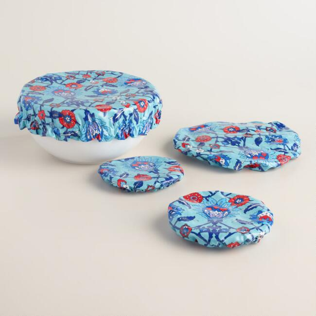 Oilcloth Bowl Covers 4 Pack