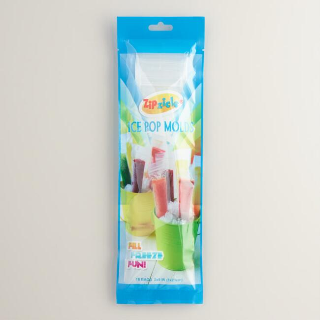 Zipzicle Ice Pop Molds 18 Pack