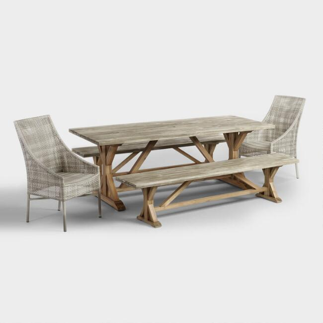 Affordable outdoor patio furniture world market watchthetrailerfo