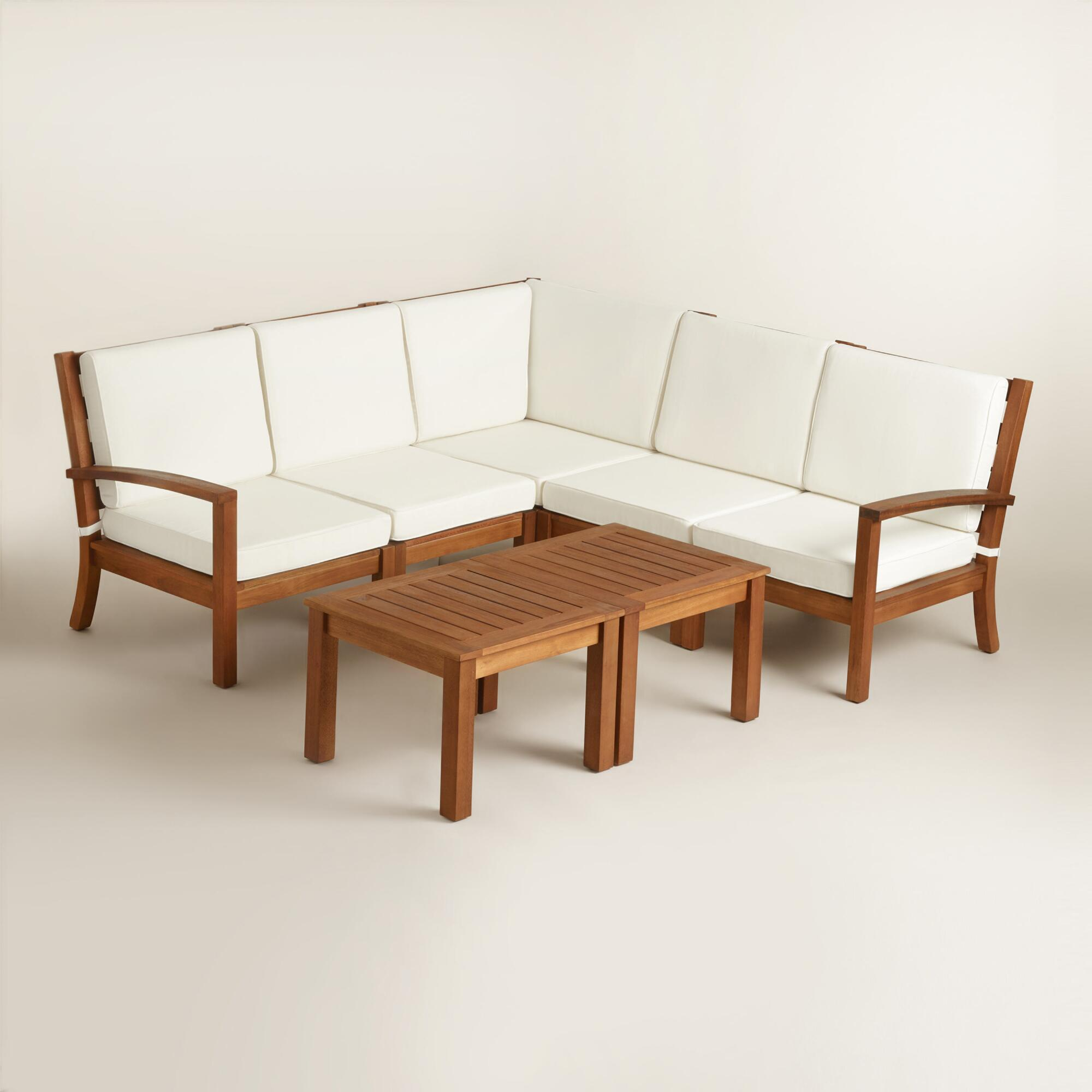 ana projects sectional weatherly diy wood patio white seats