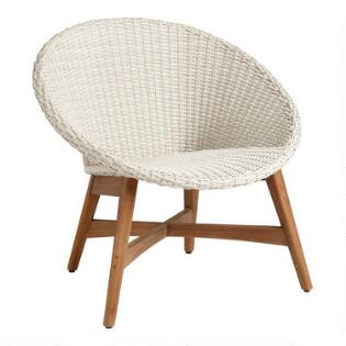Round All Weather Wicker Vernazza Outdoor Chair Set Of 2
