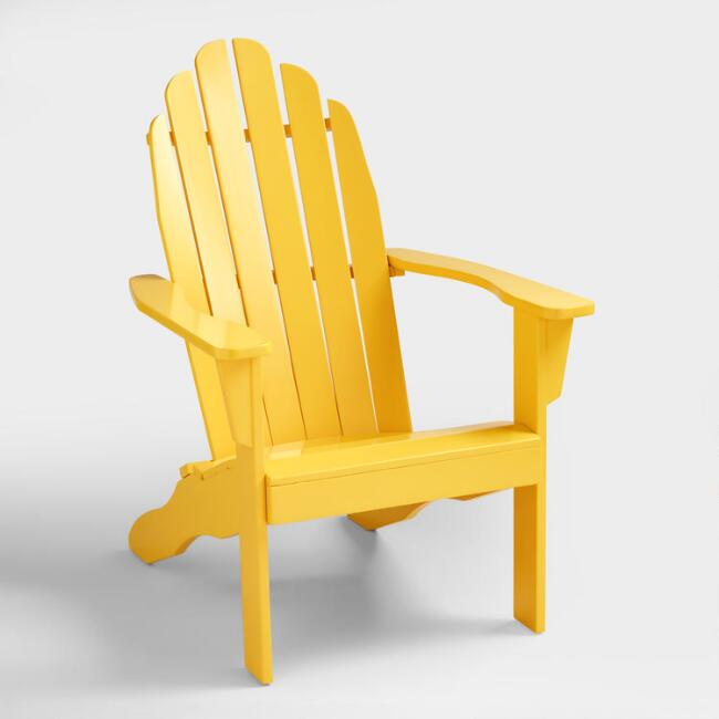 Lemon Adirondack Chair