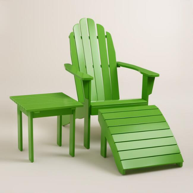 Green Adirondack Collection