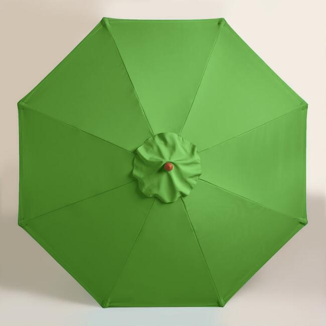 Green 9 ft Umbrella Canopy