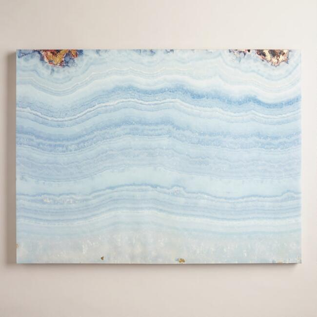 Blue Agate Wall Art