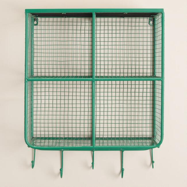 Square Wire Braedyn 4 Bin Wall Storage