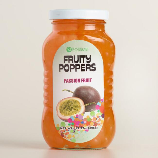 Passion Fruit Fruity Poppers