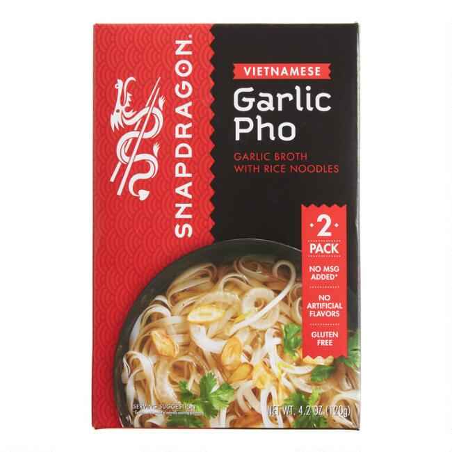 Snapdragon Garlic Vietnamese Pho Set Of 6