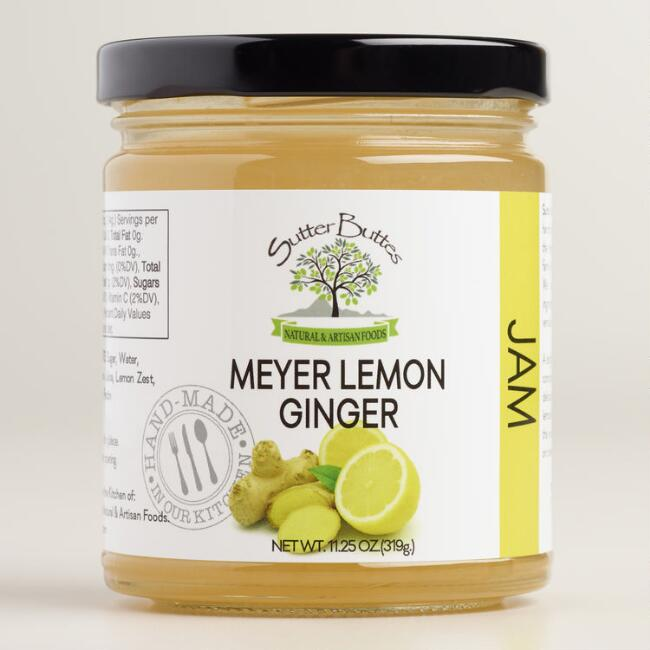 Sutter Buttes Meyer Lemon Ginger Jam