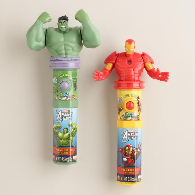 Candyrific Marvel Avengers Candy Fan