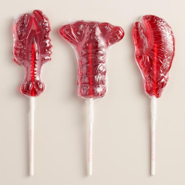 Melville Lobster Lollipops