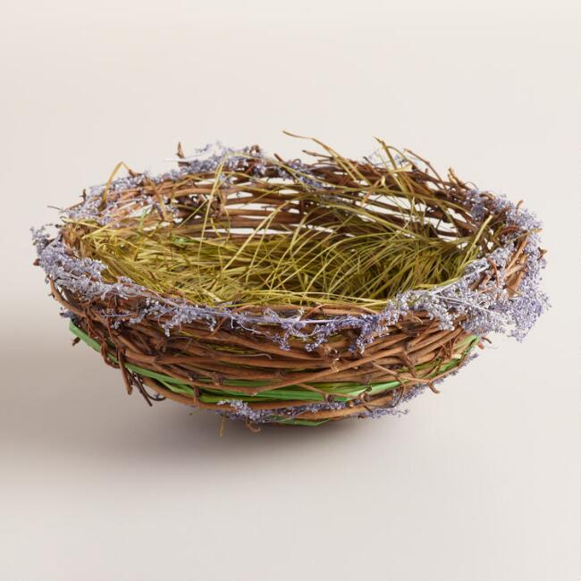 Lavender Nest Table Decor