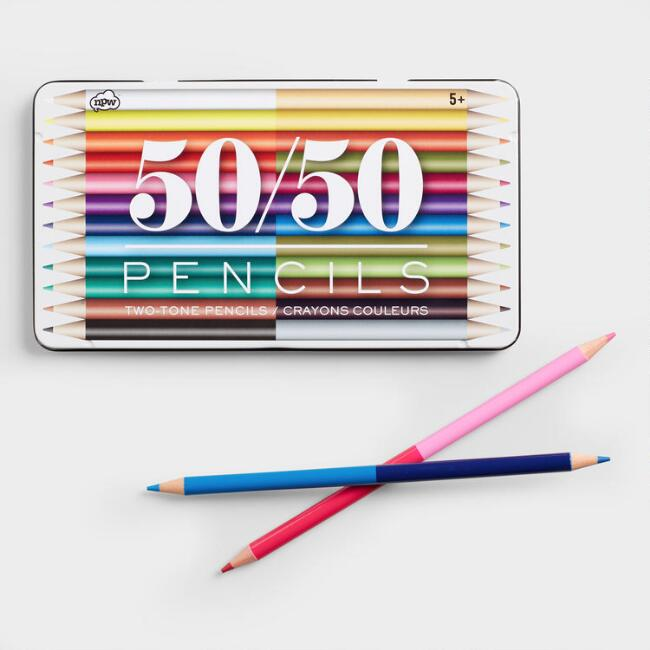Two Sided Colored Pencils Set of 12