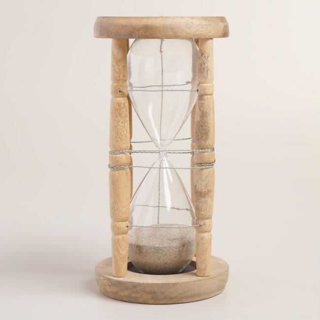 Wood and Wire Sand Timer