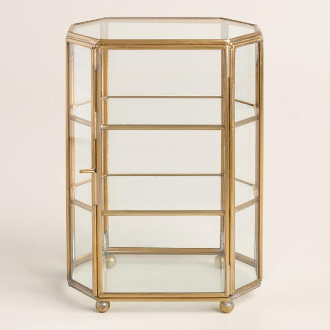 Glass Curio Box