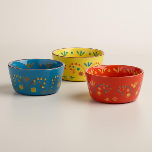 Terracotta Havana Bowls Set of 3