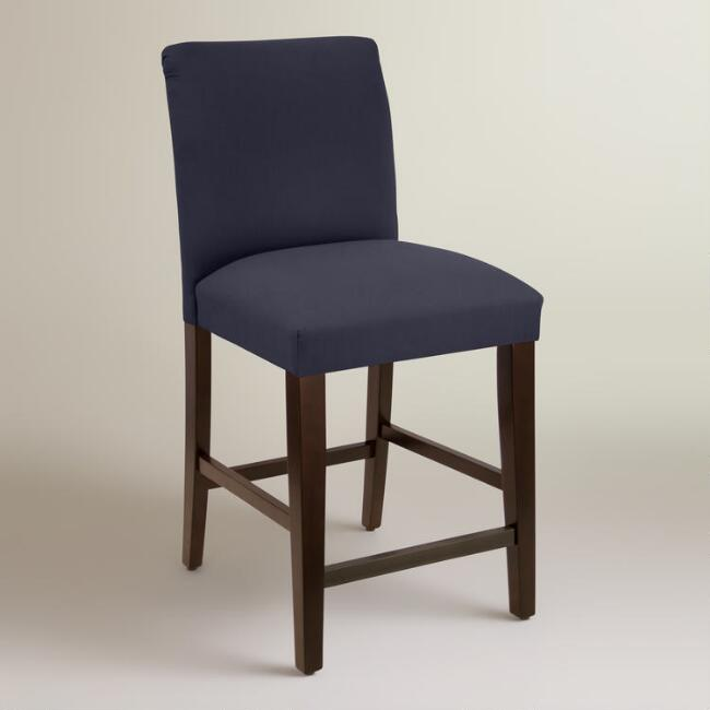 Twill Kerri Upholstered Counter Stool