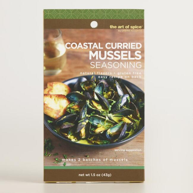 Art of Spice Curried Mussels Seasoning Set of 2