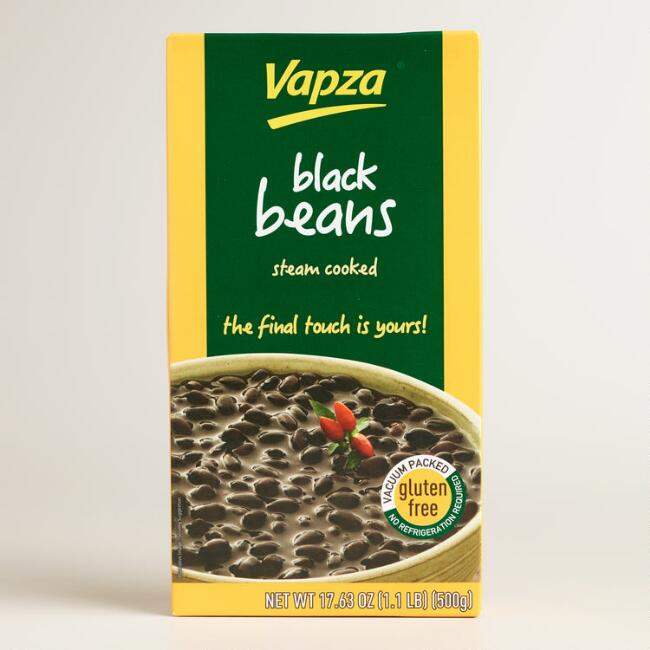 Vapza Feijao Preto Black Beans Set of 2
