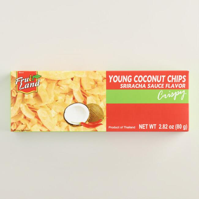Sriracha Young Coconut Chips
