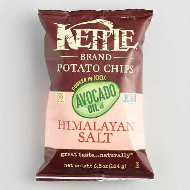 Kettle Avocado Oil Himalayan Salt Potato Chips Set of 12
