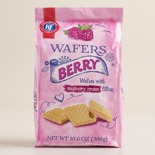 Hans Freitag Berry Wafer Cookies