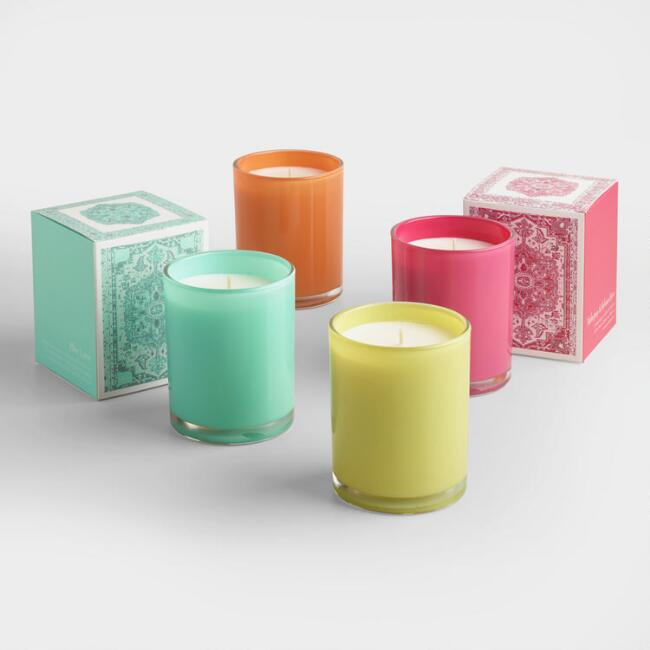 Veronica Filled Jar Candle Collection