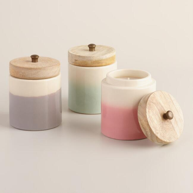 Ceramic Jar Candle Collection