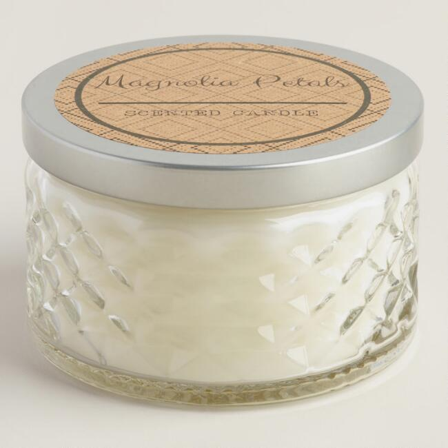Magnolia Petals Savannah Jar Candle