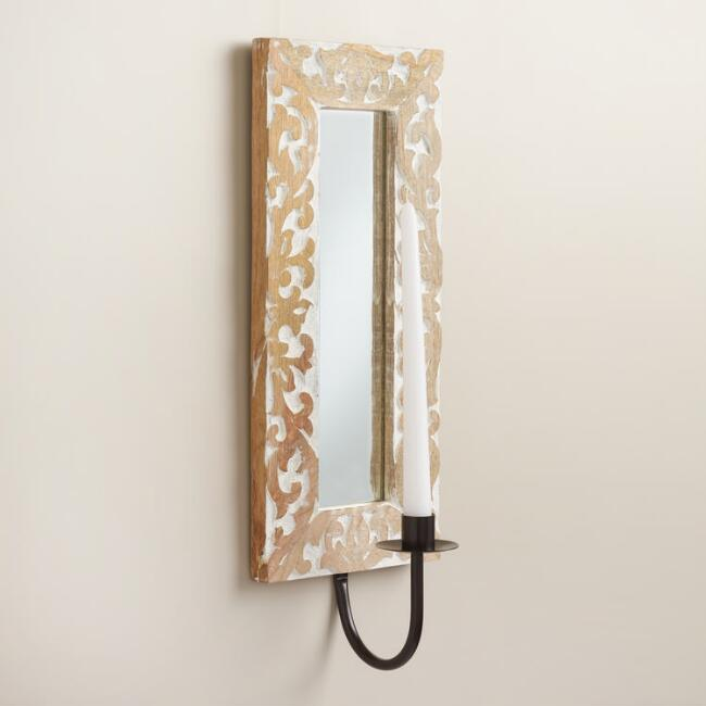 Daphne Mirrored Wall Sconce