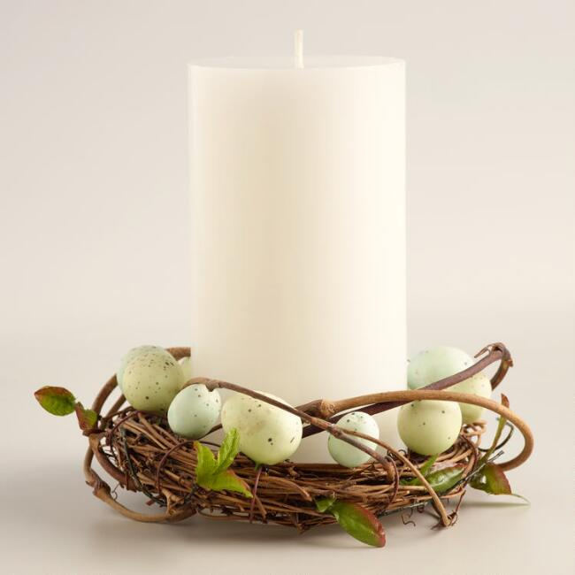Egg Nest  Candle Ring