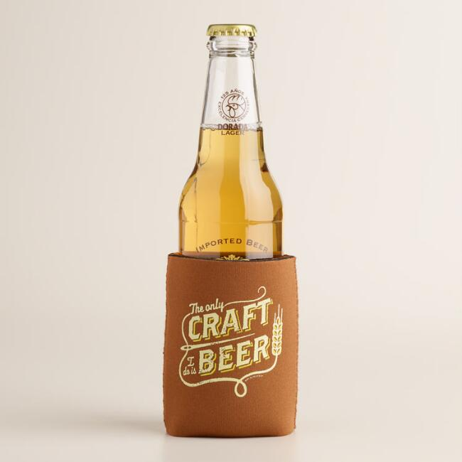 Craft Beer Collapsible Can Sleeve Set of 2