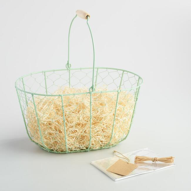 Mint Wire Basket Kit