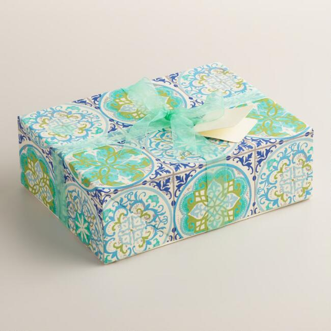 Sea Dollars Handmade Fabric Box