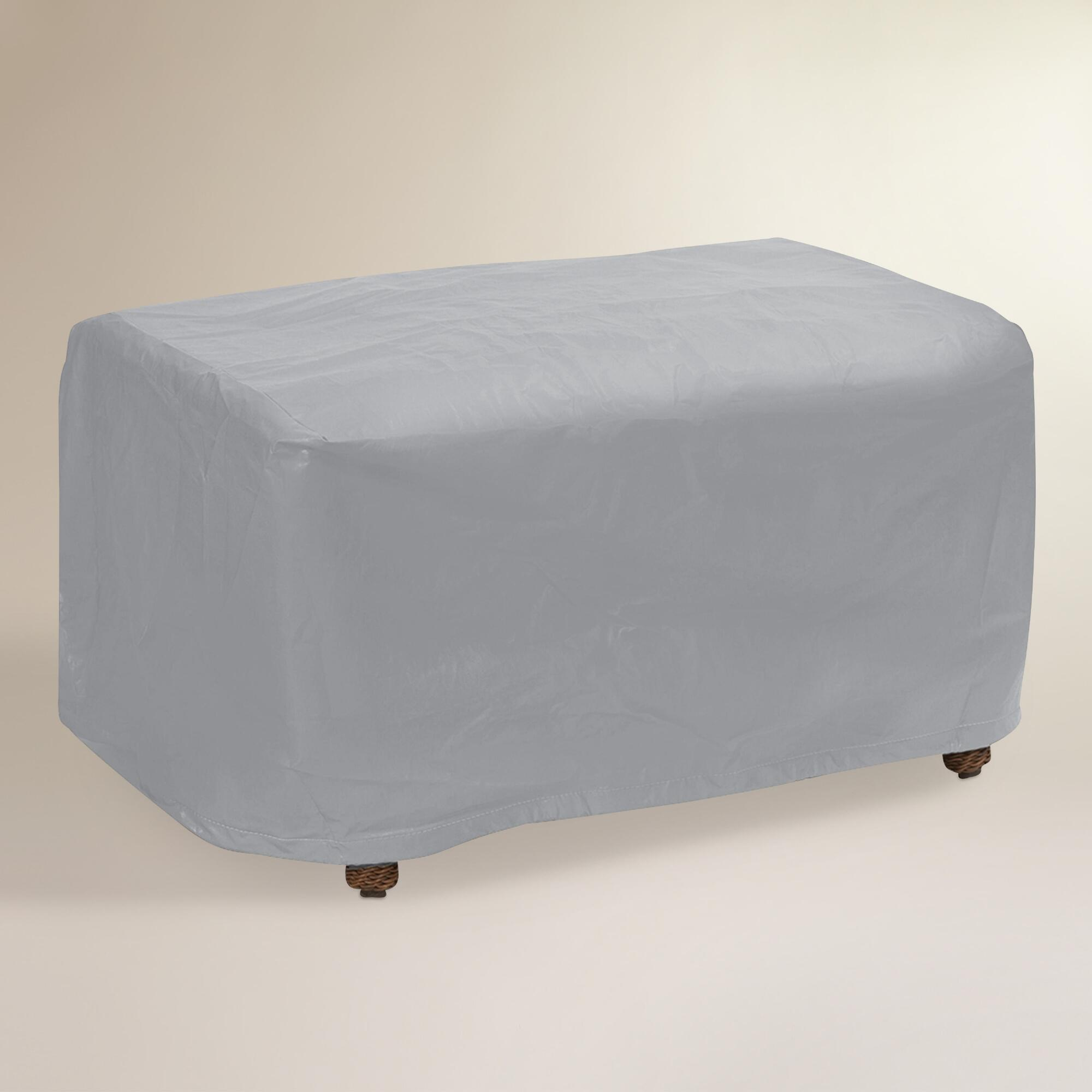 Extra Large Outdoor Patio Coffee Table Cover - Tan by World Market Tan