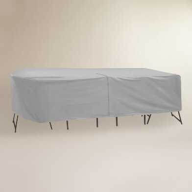 Extra Large Outdoor Table Set Cover