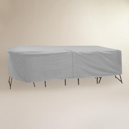 Large Outdoor Table Set Cover With Umbrella Hole World