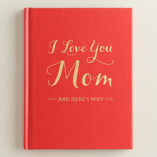 I Love You Mom Memory Book