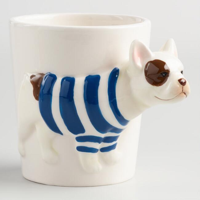 French Bulldog Mugs Set of 2