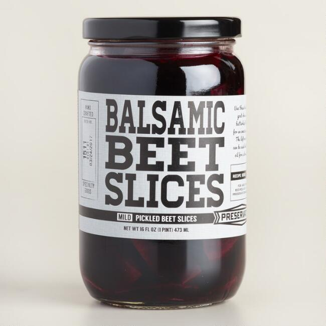 Preservation & Co. Balsamic Beet Slices