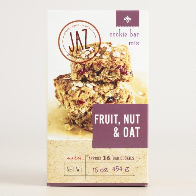 Jaz Fruit Nut and Oat Cookie Bar Mix