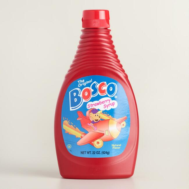 Bosco Strawberry Syrup