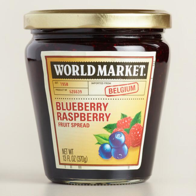 World Market Blueberry Raspberry Jam
