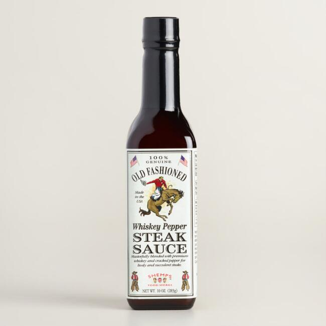 Shemp's Old Fashioned Whiskey Pepper Steak Sauce