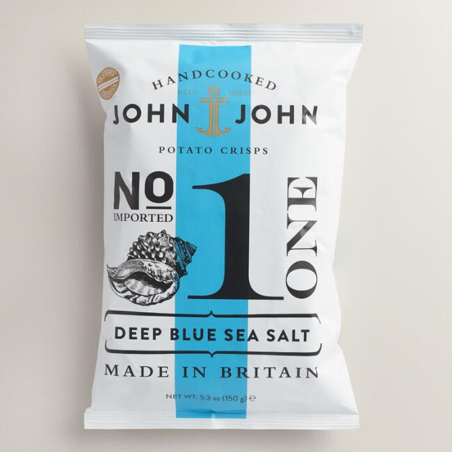 John John Deep Blue Sea Salt Potato Crisps