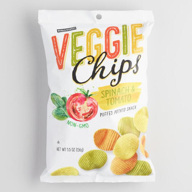 World Market® Spinach And Tomato Veggie Chips